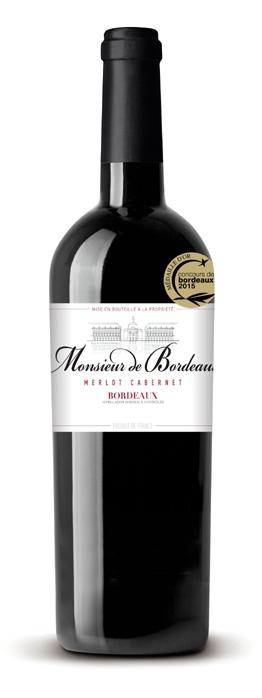 Monsieur de Bordeaux - Merlot Cabernet